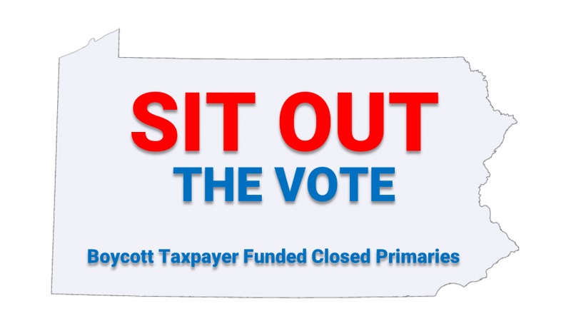 sit out the vote logo